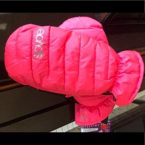 Like new Spyder Thinsulate ski mittens